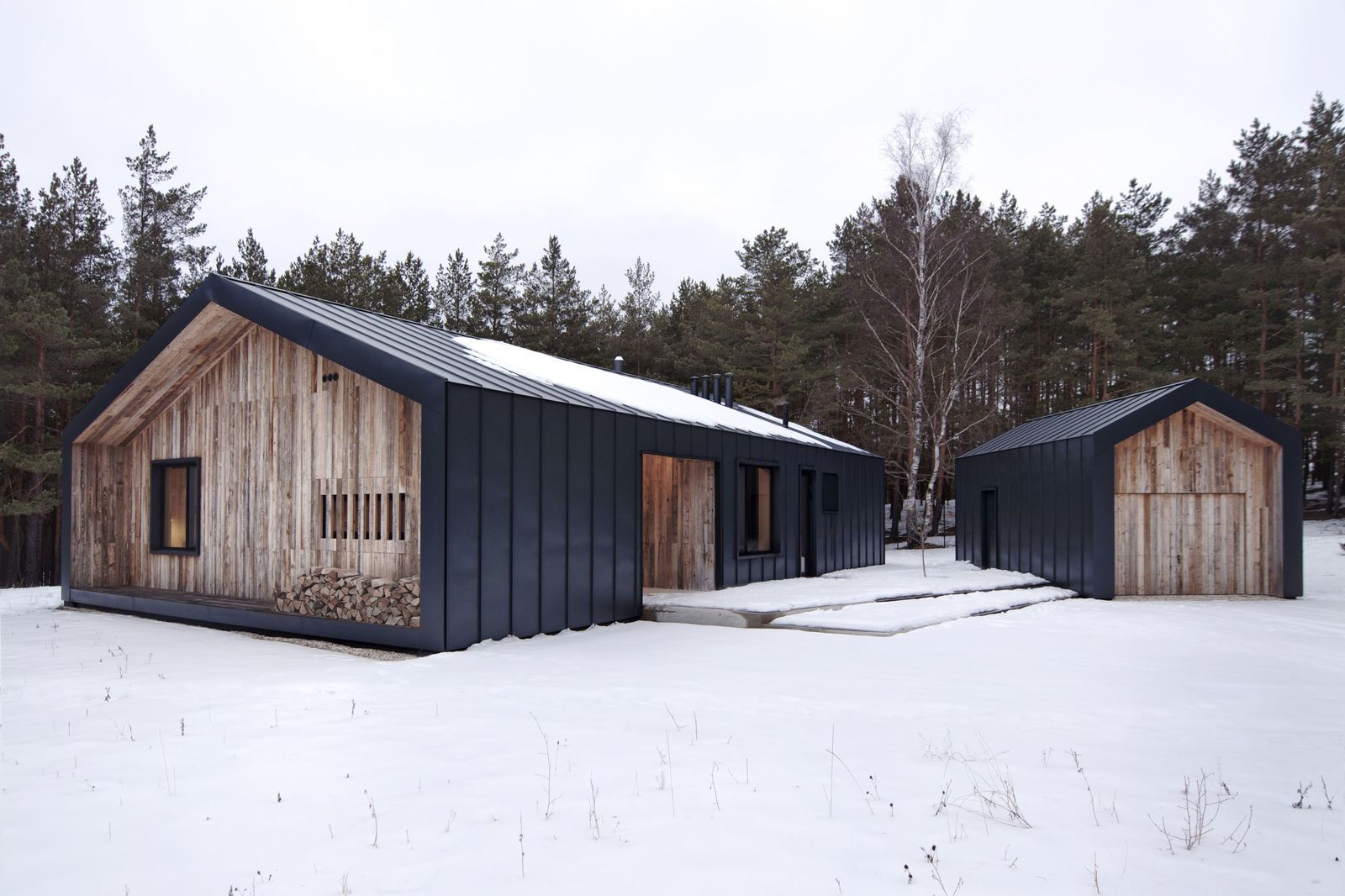Коттедж в скандинавском стиле