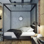 Кровать для спальни-лофт (2)