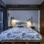 Кровать для спальни-лофт (3)