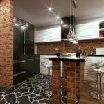 Кухня в стиле лофт - фото (10)