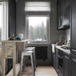 Кухня в стиле лофт - фото (16)