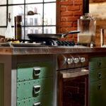 Кухня в стиле лофт - фото (19)