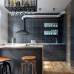Кухня в стиле лофт - фото (2)