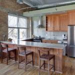 Кухня в стиле лофт - фото (25)