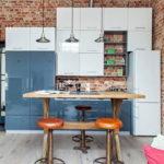 Кухня в стиле лофт - фото (27)