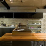 Кухня в стиле лофт - фото (28)