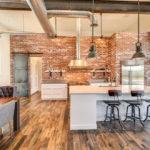 Кухня в стиле лофт - фото (44)