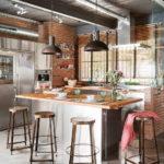Кухня в стиле лофт - фото (45)