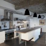 Кухня в стиле лофт - фото (46)