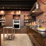 Кухня в стиле лофт - цвета