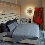 Маленькая спальня в стиле лофт (2)
