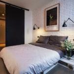 Маленькая спальня в стиле лофт (3)