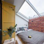 Маленькая спальня в стиле лофт (5)
