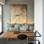 Маленькая спальня в стиле лофт (6)