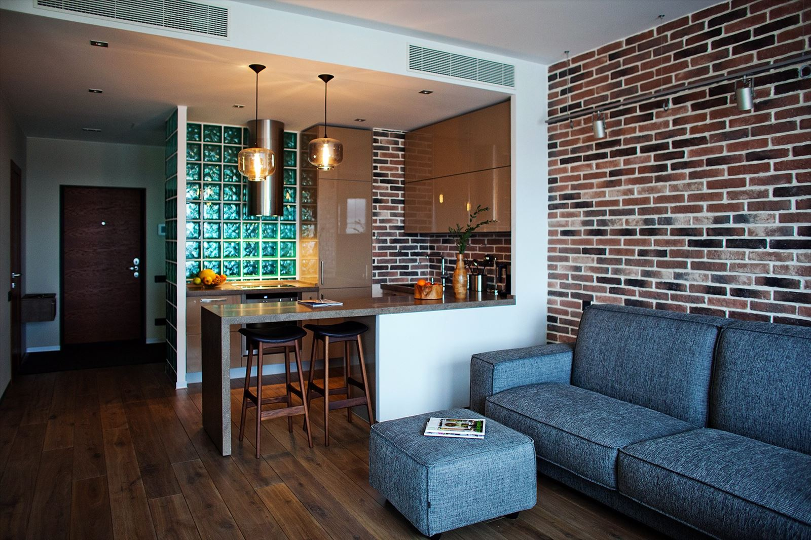 Мебель для лофт-кухни