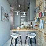 Меблировка кухни в стиле лофт