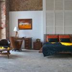 Спальня в стиле лофт - фото (11)