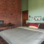 Спальня в стиле лофт - фото (12)