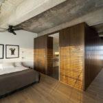 Спальня в стиле лофт - фото (14)