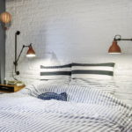 Спальня в стиле лофт - фото (21)