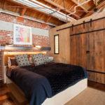 Спальня в стиле лофт - фото (23)