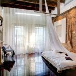 Спальня в стиле лофт - фото (25)