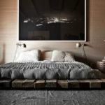 Спальня в стиле лофт - фото (28)