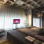 Спальня в стиле лофт - фото (6)