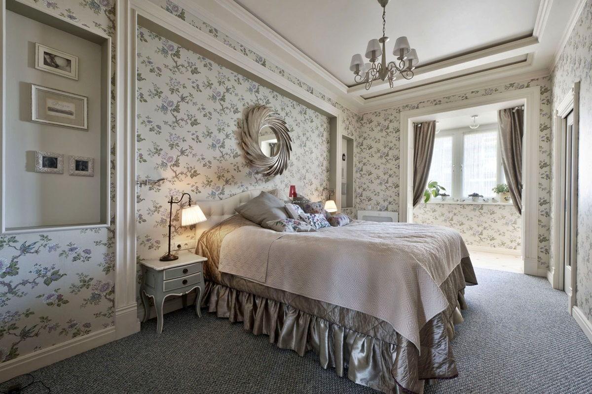 Спальня в стиле прованс - фото (10)