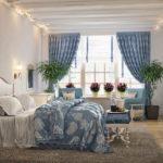 Спальня в стиле прованс - фото (17)