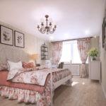 Спальня в стиле прованс - фото (22)