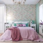 Спальня в стиле прованс - фото (23)