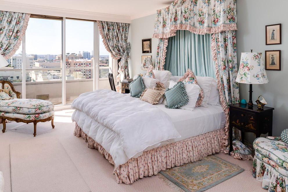 Цвета для спальни в стиле прованс