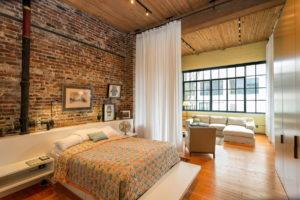 Шинные системы освещения для спальни в стиле лофт (2)