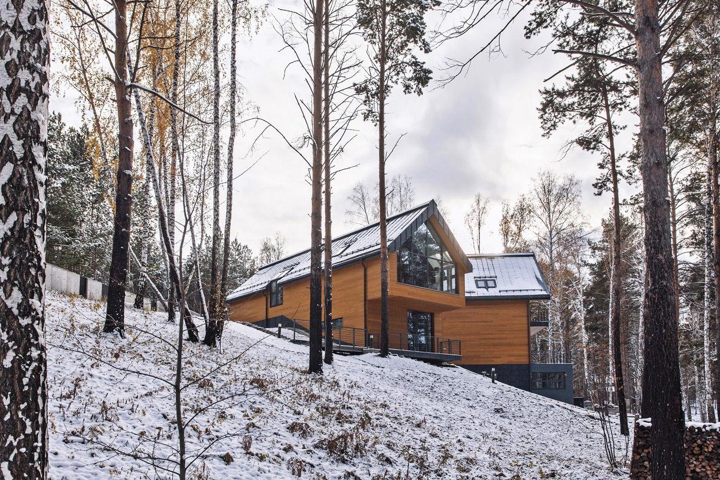 Экстерьер большого загородного дома в скандинавском стиле (5)