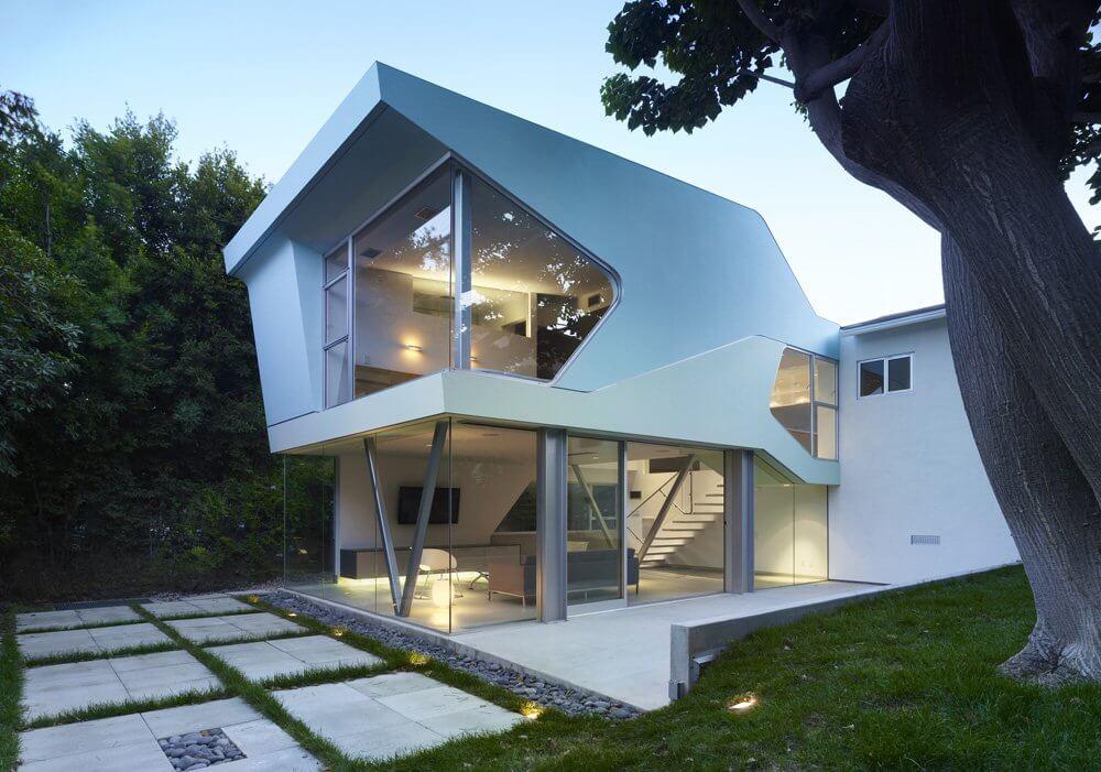 лакунарной проекты домов нестандартной формы фото соколов