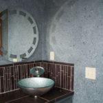 Жидкие обои в ванной комнате (2)