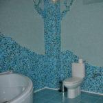 Жидкие обои в ванной комнате (3)