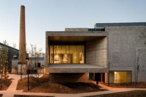 Индустриальный хай-тек в частной архитектуре