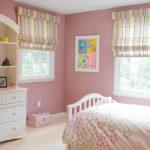 Римские шторы в интерьере детской комнаты - фото (3)