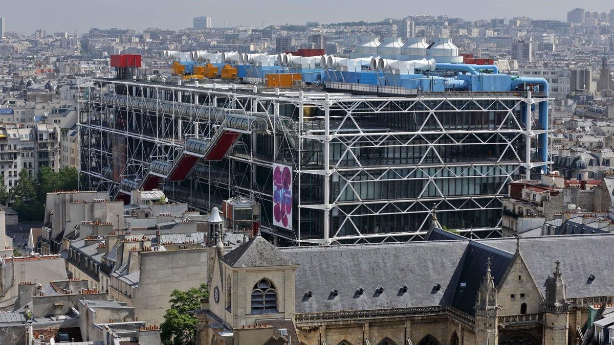 Центр Жоржа Помпиду в Париже (3)