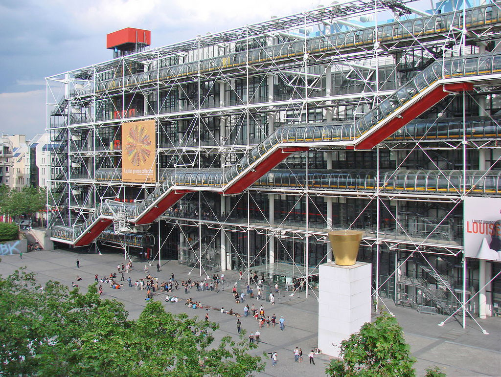 Центр Жоржа Помпиду в Париже (4)