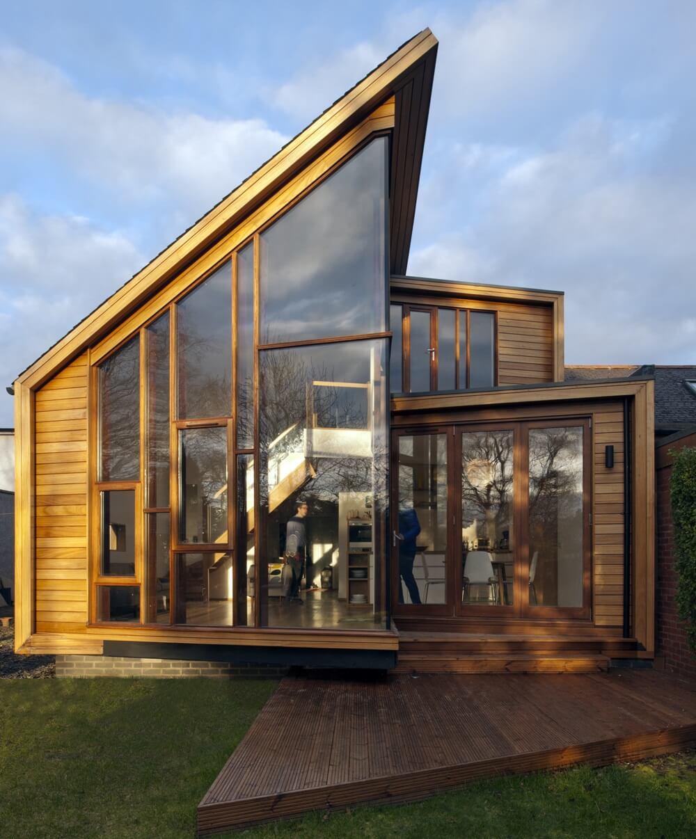 уверены, дома из стекла и дерева фото легенде местных