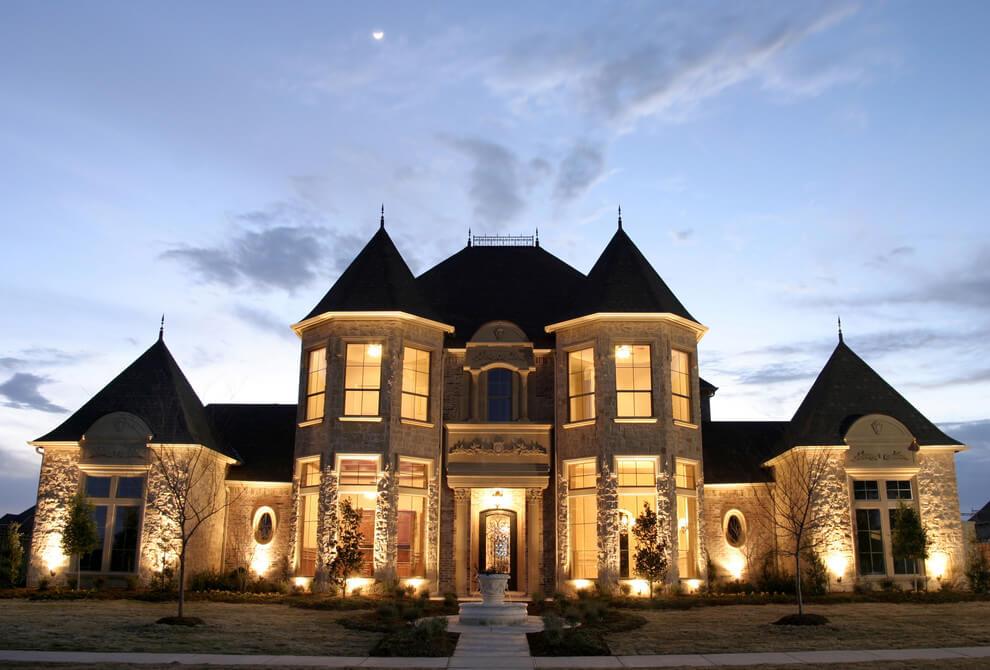 Дома в стиле шато - фото (28)