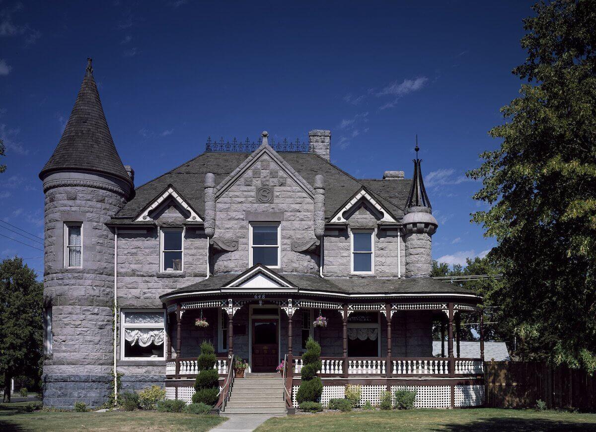 Дом в стиле шато