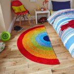 Ковер в интерьере детской комнаты - фото (2)