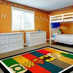 Ковер в интерьере детской комнаты - фото (4)