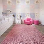 Ковер в интерьере детской комнаты - фото (8)