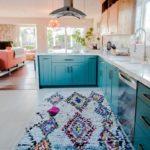 Ковер в интерьере кухни - фото (4)