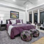 Ковер в интерьере спальни - фото (3)